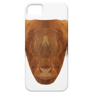 De Schotse Dierlijke Koe van Schotland van het Vee Barely There iPhone 5 Hoesje