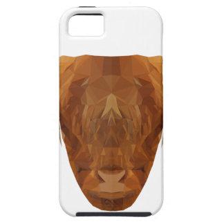 De Schotse Dierlijke Koe van Schotland van het Vee Tough iPhone 5 Hoesje