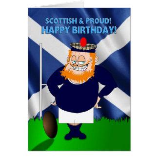 De Schotse en Trotse Kaart van de Verjaardag van h