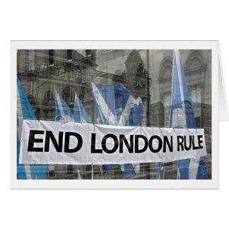 De Schotse Kaart van de Regel van Londen van het