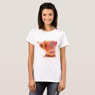 """De Schotse Koe """"ZOETE SATSUMA-MANDARIJN"""" van het T Shirt"""