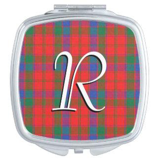 De Schotse Plaid van het Geruite Schotse wollen Makeup Spiegel