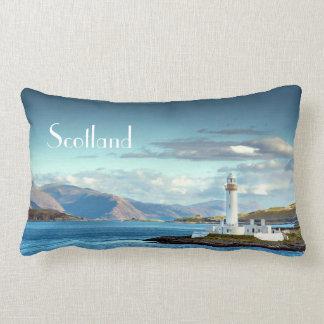 De Schotse Schilderachtig Haven van Oban van het Lumbar Kussen