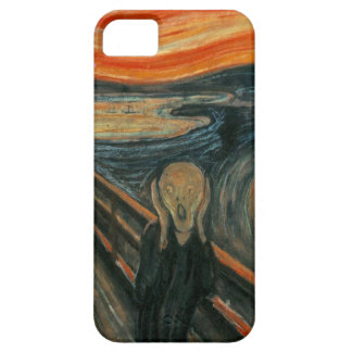 De schreeuw door Edvard Munch Barely There iPhone 5 Hoesje