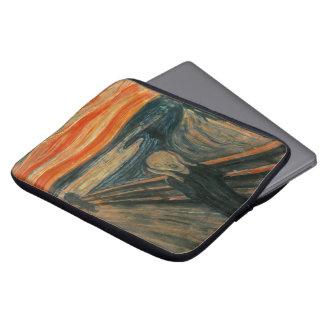 De schreeuw door Edvard Munch Laptop Sleeve