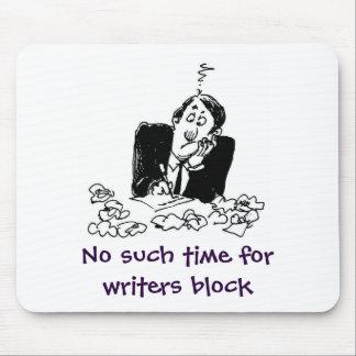 de schrijvers blokkeren muismat