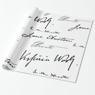 De Schrijvers van vrouwen Cadeaupapier