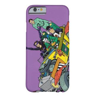De Schurken van Batman in Jokermobile Barely There iPhone 6 Hoesje