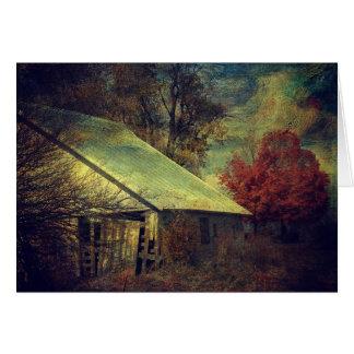 De schuur van de Herfst, Verjaardag Briefkaarten 0