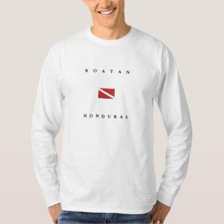 De Scuba-uitrusting van Honduras van Roatan duikt T Shirt