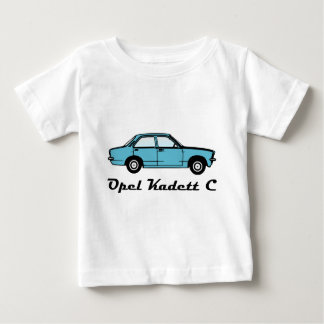 De Sedan van Opel Kadett C Baby T Shirts