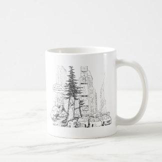 De Sequoia van New York Koffiemok