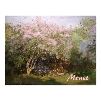 De Seringen van het impressionisme door Monet Briefkaart
