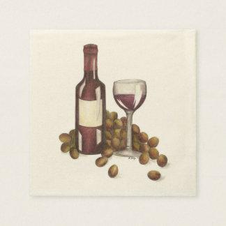 De Servetten van de Wijnmakerij van de Bar van de Wegwerp Servetten