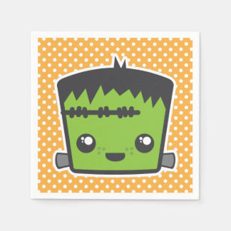 De Servetten van Halloween van het Monster van Papieren Servetten
