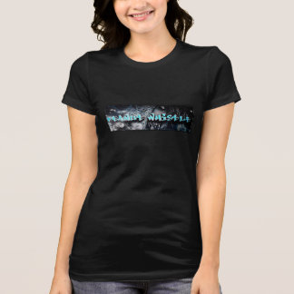 De sexy T-shirt van het zombie pnutwhistle logo