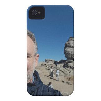 De sfinx, Bucegi Bergen, Roemenië (ontwerp #2) iPhone 4 Hoesje