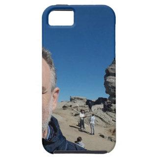 De sfinx, Bucegi Bergen, Roemenië (ontwerp #2) Tough iPhone 5 Hoesje