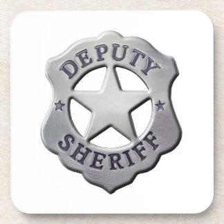 De Sheriff van de afgevaardigde Drankjes Onderzetter