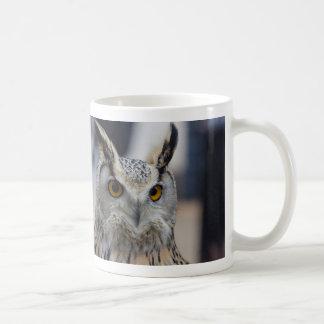 De Siberische Mok van de Koffie van de Uil van