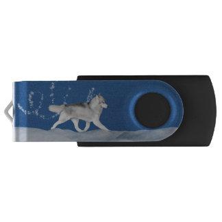 De Siberische Schor Aandrijving van de Flits van Swivel USB 2.0 Stick