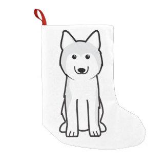De Siberische Schor Cartoon van de Hond Kleine Kerstsok