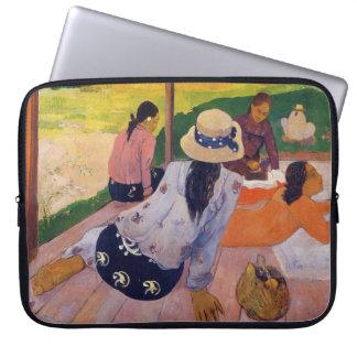 "De ""siësta"" - Paul Gauguin Laptop Sleeve"