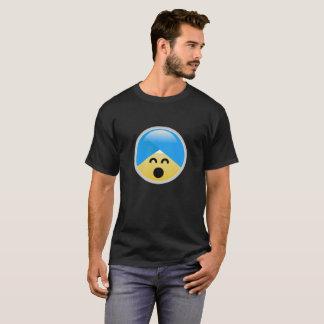 De sikh Amerikaanse Gelukkige T-shirt van Emoji