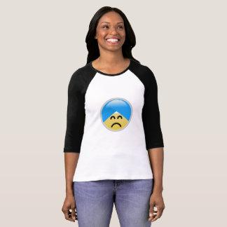 De sikh Amerikaanse het Fronsen T-shirt van Emoji