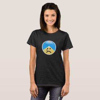 De sikh Amerikaanse Schreeuwende T-shirt van Emoji
