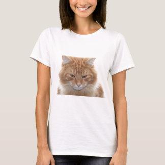 De sinaasappel Gestripte Kat van de Gestreepte kat T Shirt