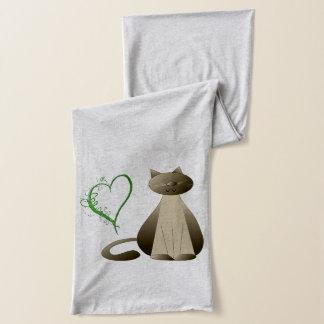 De Sjaal van de Harten van de gember en van de Kat Sjaal