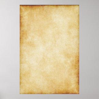 De Sjabloon Document van het achtergrond van het Poster