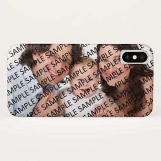 De Sjabloon van de Gift van de Foto van het iPhone X Hoesje