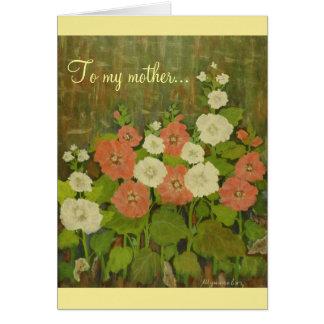 De Sjabloon van de Kaart van het moederdag