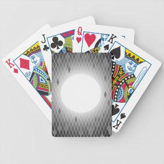 De Sjabloon van het gebrandschilderd glas Poker Kaarten