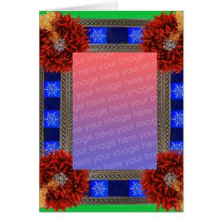 De Sjabloon van Kerstmis van het zuidwesten Briefkaarten 0