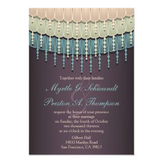 De sjofele Elegante Boheemse Uitnodigingen van het
