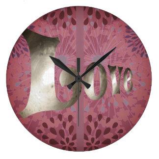 De sjofele Roze Klok van de Liefde