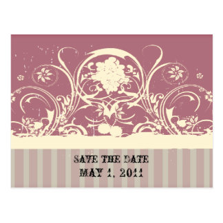 De sjofele Sering bewaart de Datum Briefkaart