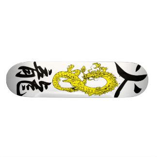 De Skateboards van de Draak van de brand