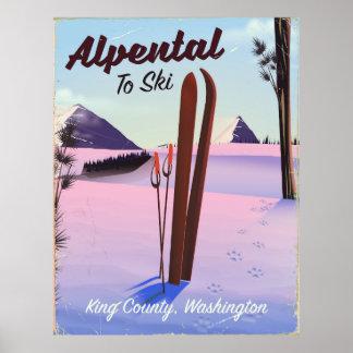 De skimoeilijke vraag van de Provincie van de Poster