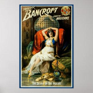 De Slaaf van Bancroft ~ van het Oosten Poster