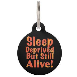 De slaap beroofde maar nog Levend in de Tonen van Huisdierpenning