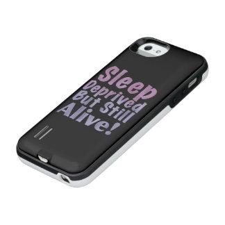 De slaap beroofde maar nog Levend in Slaperige iPhone SE/5/5s Batterij Hoesje