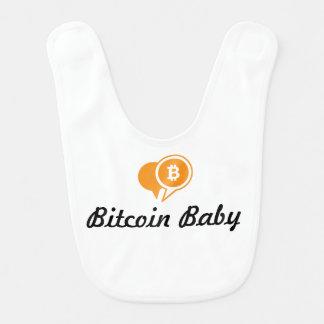 De Slab van het Baby van Bitcoin Baby Slabbetje