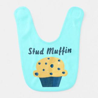 De Slab van het Baby van de Muffin van de Bosbes Slabbetje
