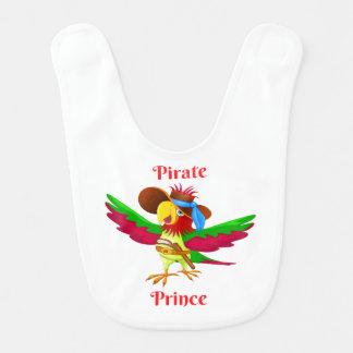 De Slab van het Baby van de Prins van de Piraat Slabbetje