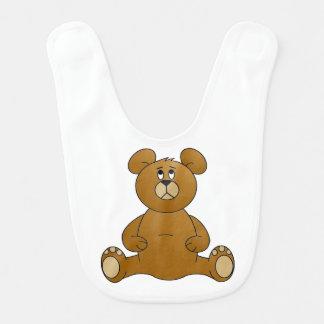 De Slab van het Baby van de Teddybeer van de Slabbetje