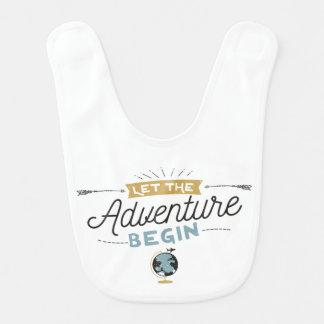 De Slab van het Baby van het avontuur Baby Slabbetje